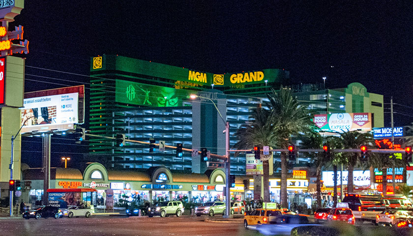 MGM building in Las Vegas, Nevada