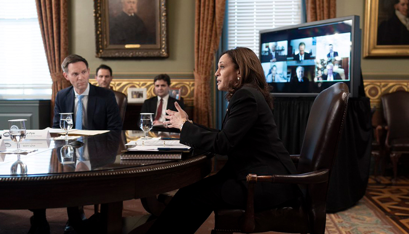 Kamala Harris talking to Administration about immigration policy
