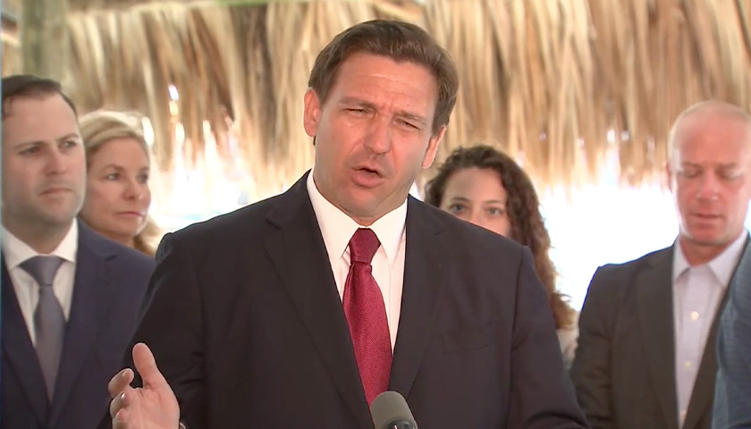 Gov. DeSantis discussing COVID-19 bill.