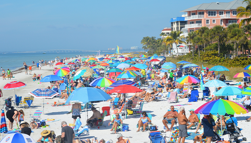 People on the beach during daytime