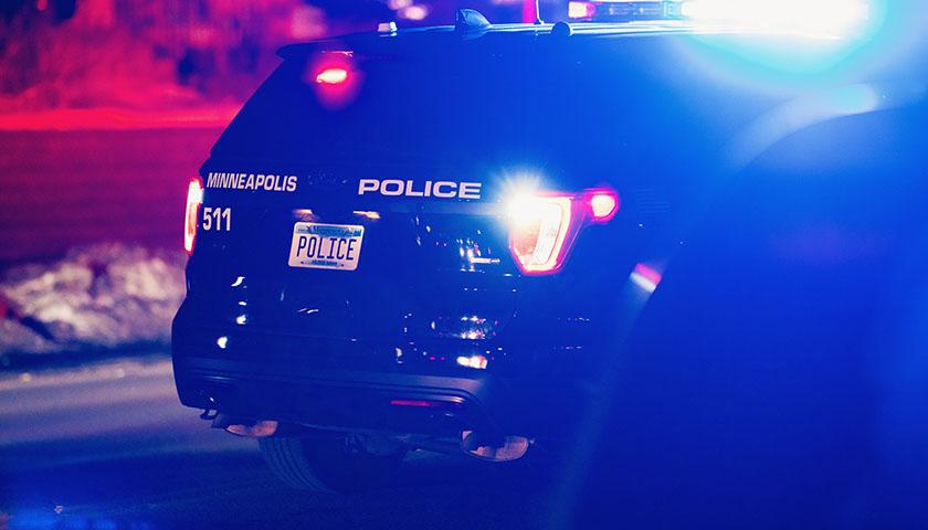 Minneapolis Police SUV