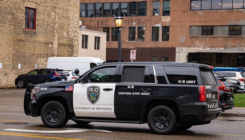University of Minnesota Police Squad Car