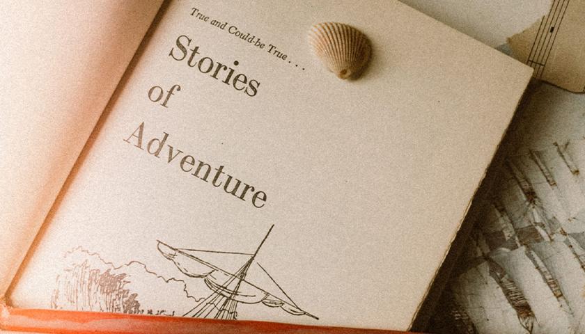 "Book ""Stories of Adventure"""