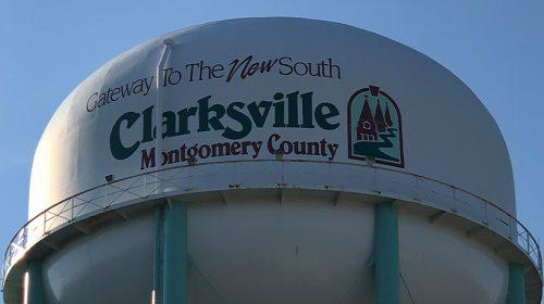 Clarksville, TN watertower