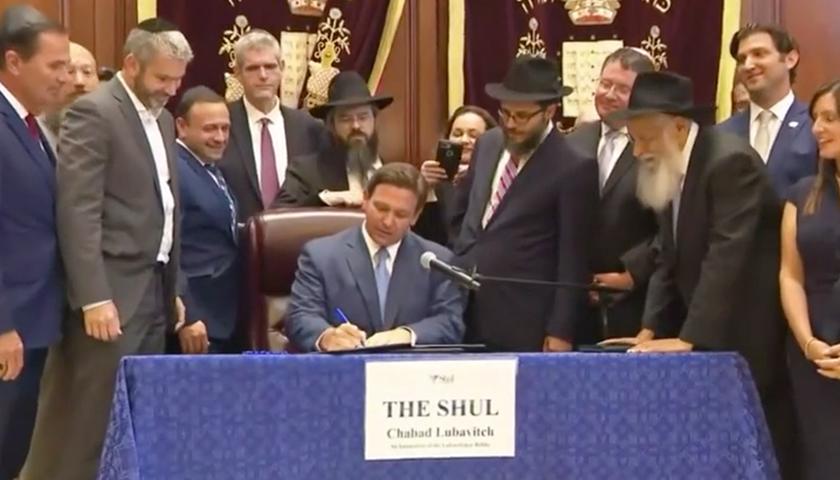 Gov. DeSantis signing bill