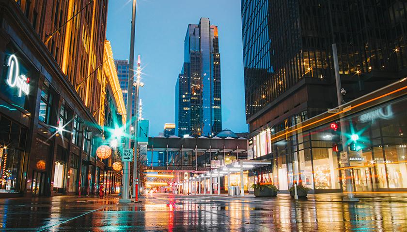 Minneapolis, MN, cityscape