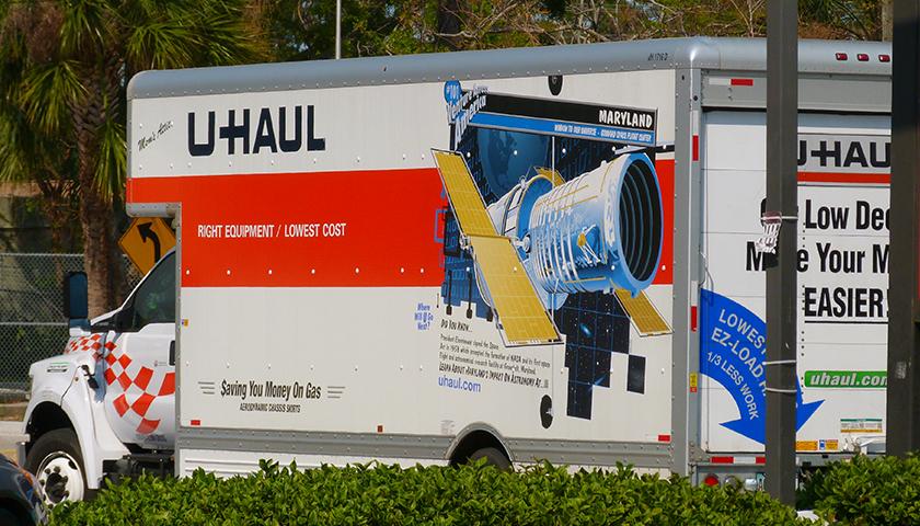 U-Haul truck