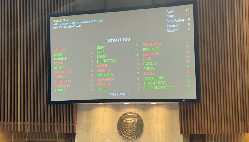Arizona Senate Passes Budget