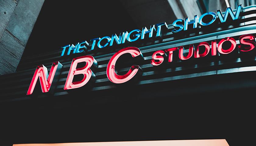 The Tonight Show - NBC Studios sign