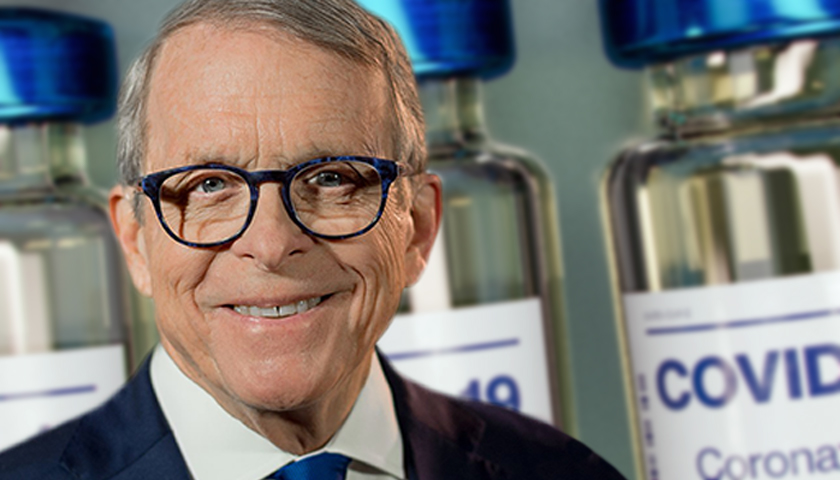 Gov. Mike DeWine and vaccines