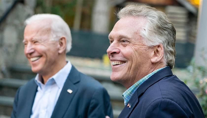 McAuliffe & Biden