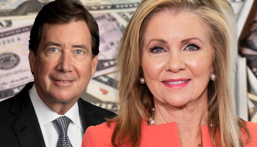 Bill Hagerty and Marsha Blackburn