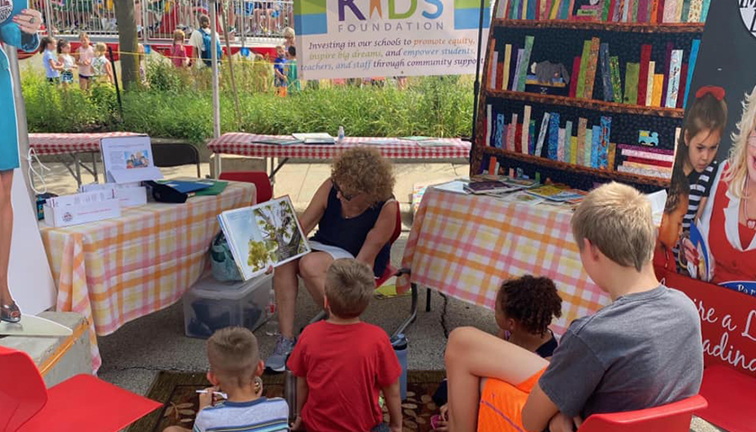 D41 Kids Foundation, person reading