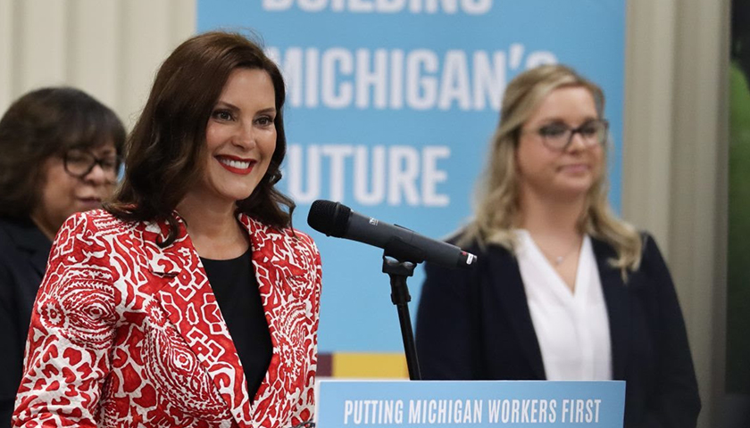 Gov. Grethcen Whitmer announces that Michigan received a $10 million grant to support the state's registered apprenticeship expansion efforts and increase employment opportunities for Michiganders.