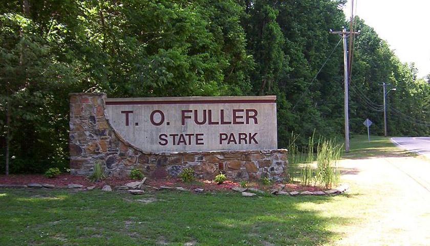 T.O. Fuller State Park entrance