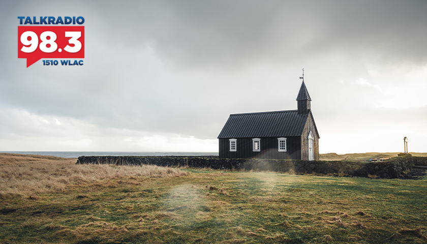 Church out in the field