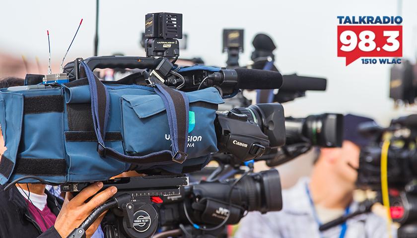 Professional news cameras