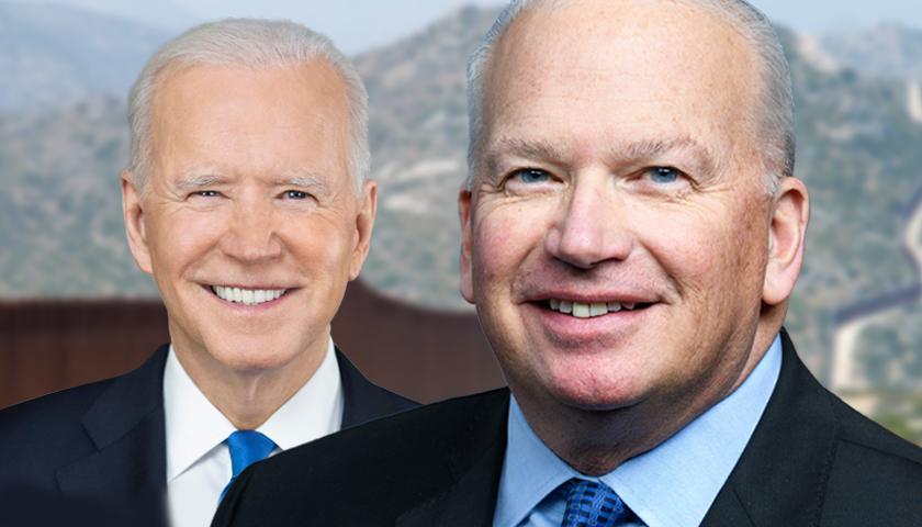 Joe Biden and Rep. Scott Fitzgerald
